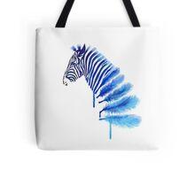 Tumblr Watercolor Zebra Tote Bag