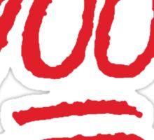 Keep it 100 fam - version 1 - Red Sticker