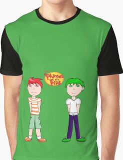 Phineas and Ferb! Graphic T-Shirt