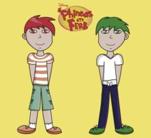 Phineas and Ferb! One Piece - Short Sleeve