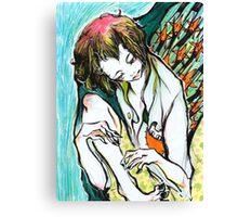 star ascension Canvas Print