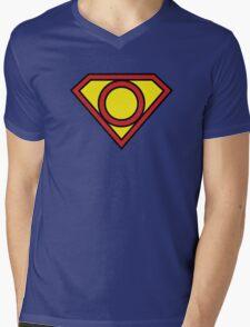 O Superman Mens V-Neck T-Shirt