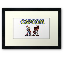 Capcom Framed Print