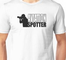 Aviation spotter photo Unisex T-Shirt