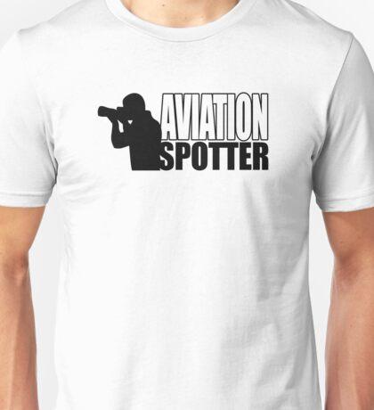 Aviation spotter photo Unisex T-Shirt