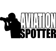 Aviation spotter photo Photographic Print