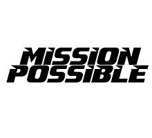 Mission imossible Movie T-Shirt Photographic Print