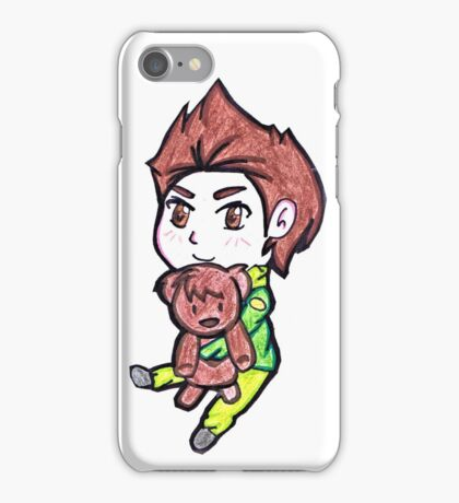 My teddy bear Chris  iPhone Case/Skin
