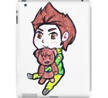 My teddy bear Chris  iPad Case/Skin