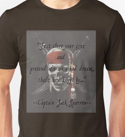 Jack Sparrow Quote Unisex T-Shirt