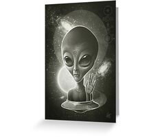 Alien II Greeting Card