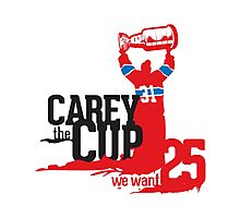 Carey The Cup Photographic Print