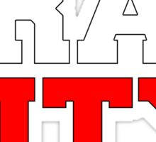 Trap city Sticker