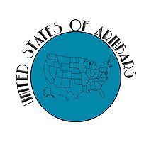 United States of Armbars Photographic Print
