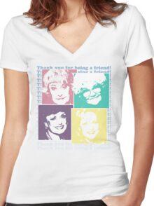 The Golden Girls Women's Fitted V-Neck T-Shirt