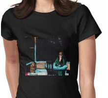 The Automat Womens Fitted T-Shirt