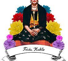 Frida Kahlo by cursis