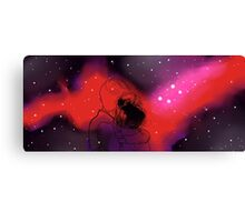 Nebula Ties Canvas Print