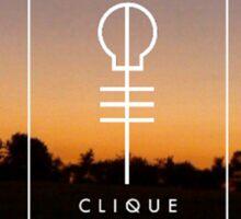Skeleton Clique Sunset Sticker