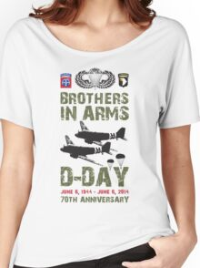 BROTHERS IN ARMS Women's Relaxed Fit T-Shirt