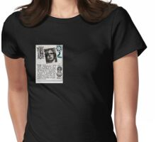 Image-Greta Garbo Womens Fitted T-Shirt