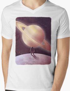 A View From Enceladus Mens V-Neck T-Shirt