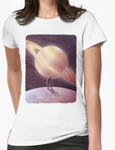 A View From Enceladus Womens Fitted T-Shirt