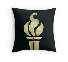 Olympic Torch - Digital Print Throw Pillow