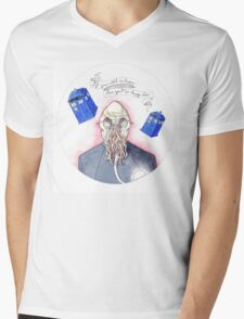 Doctor Who - Ood Mens V-Neck T-Shirt