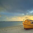 Beached! Coochiemudlo Is Qld Australia by Beth  Wode