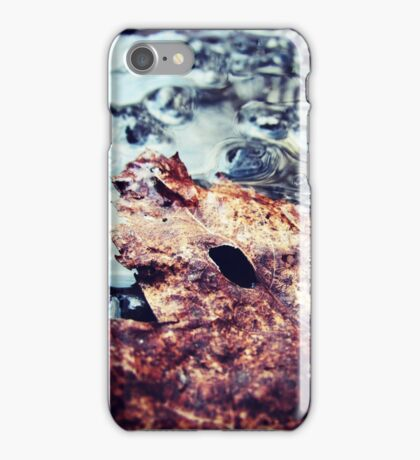 Leaf - puddle jumping (2012) iPhone Case/Skin