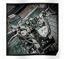 Gsxr custom motorcycle Poster