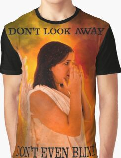 Don't look away. Don't even blink (Doctor Who) Graphic T-Shirt