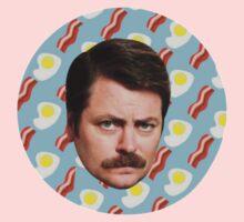 Ron N Bacon N Eggs Kids Clothes