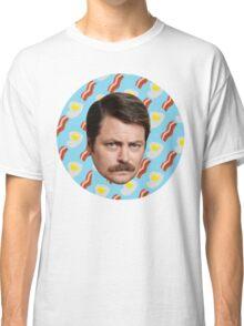 Ron N Bacon N Eggs Classic T-Shirt