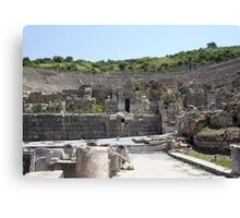 The Odeum: Backstage at Ephesus Canvas Print