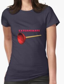 Exterminate (the Dalek race) Womens Fitted T-Shirt