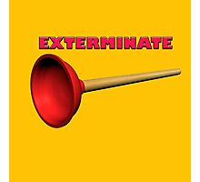 Exterminate (the Dalek race) Photographic Print
