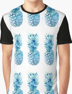 3 Tumblr Pineapples Graphic T-Shirt