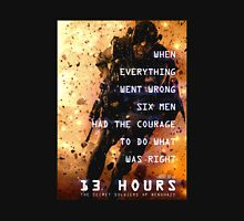 13 hours: the secret soldiers of benghazi Unisex T-Shirt