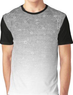 Star Gradient - Heather Grey Graphic T-Shirt