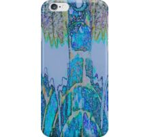 Beautiful blue Steeples by Sherri Nicholas iPhone Case/Skin