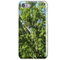 exploding tree iPhone Case/Skin
