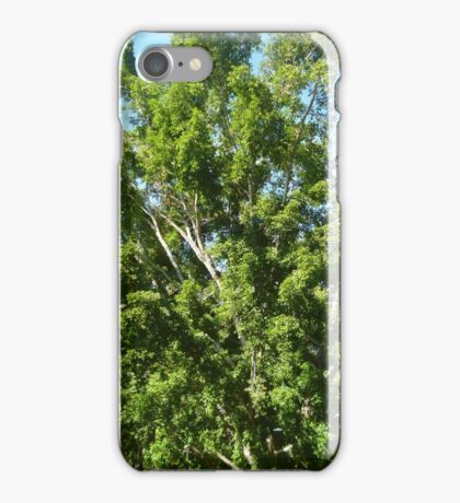 exploding tree iPhone Case/Skin