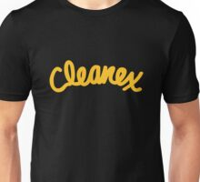 Cleanex Tissues Black Tee/Poster Unisex T-Shirt