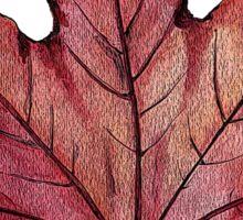 Falling Leaves Sticker