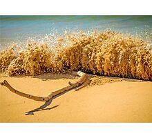 Beach Slam Dunk Photographic Print