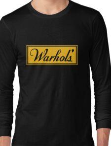 Warhol's Black Tee/Poster Long Sleeve T-Shirt