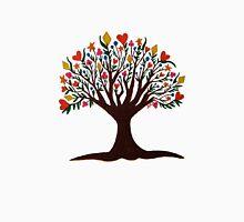 Abundance Tree Womens Fitted T-Shirt