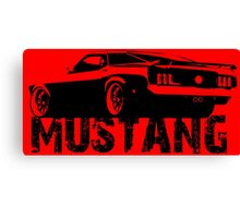 Ford Mustang - Rear Canvas Print